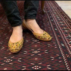 Shoes - Multi Coloured Leather Jutti's